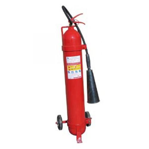 Огнетушитель углекислотный ОУ-7 ВСЕ с тележкой