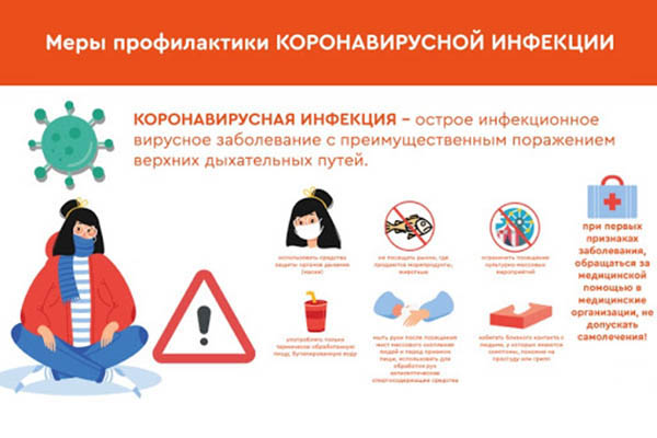 Стенд Меры профилактики коронавирусной инфекции. COVID-19, 400х600 мм