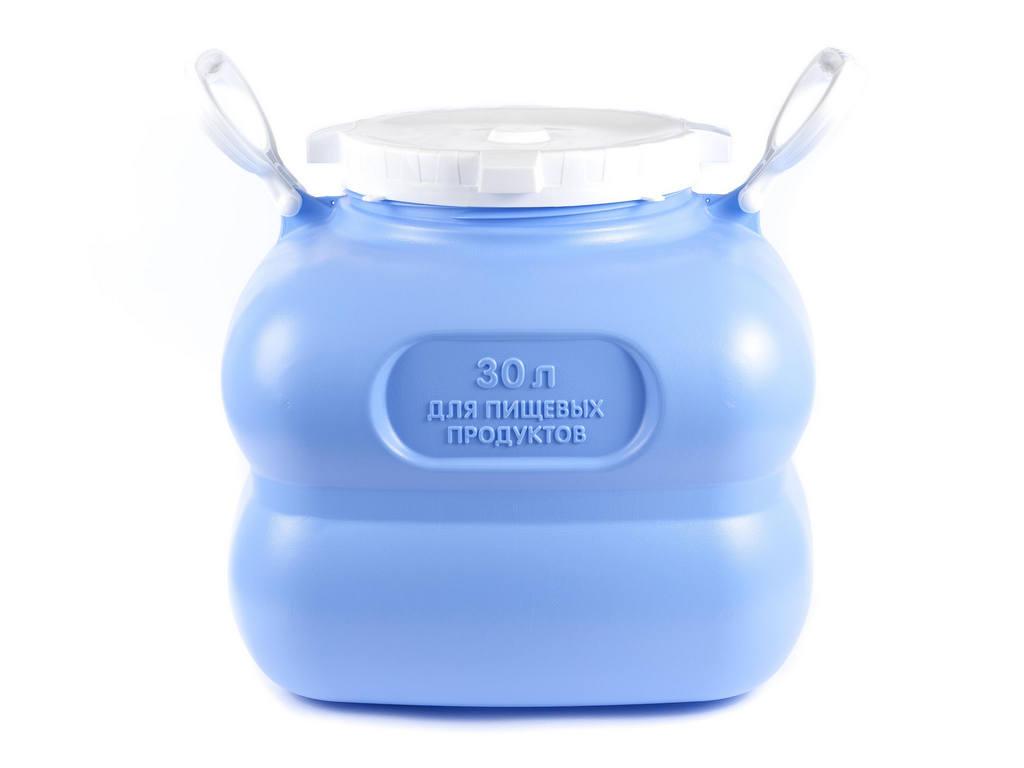 Фляга (бак) Grande пластиковая для воды, объем 30л, с ручками